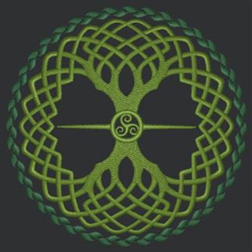 Celtic Tree of Life Tech Bag