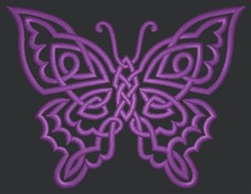 Celtic Butterfly Tech Bag