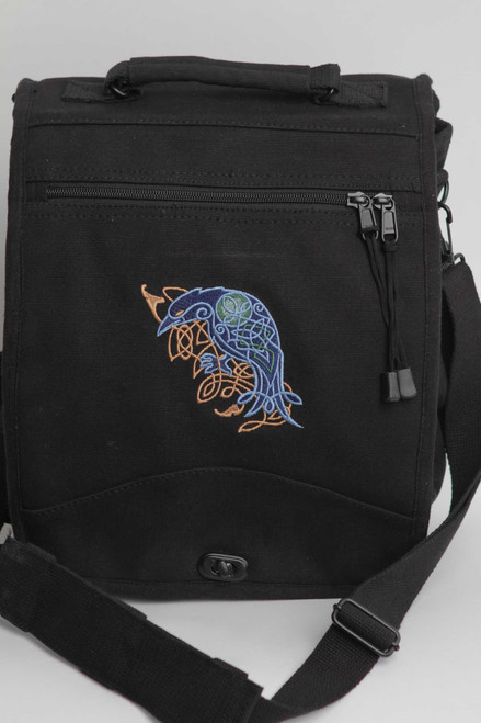 Celtic Raven Engineer Bag