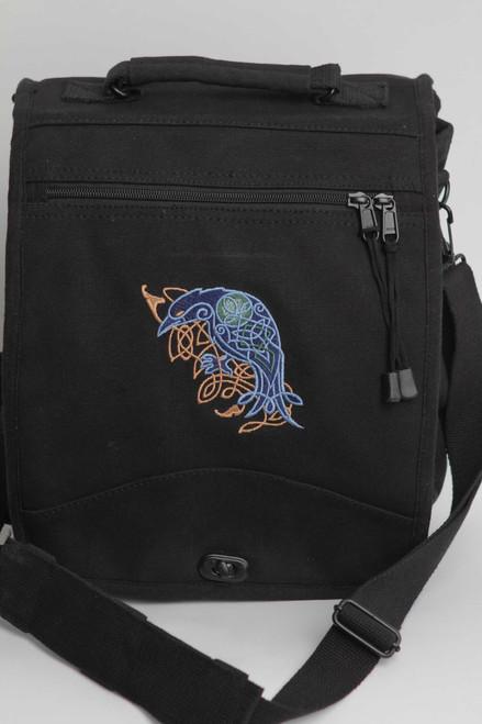 Celtic Raven Engineer Bag