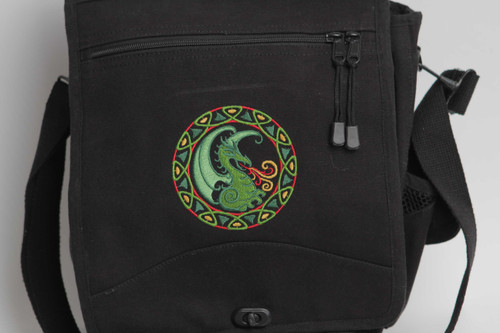 Celtic Circle Dragon Engineer Bag