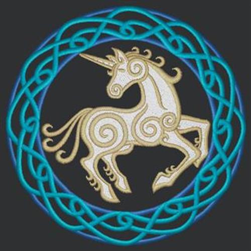 Celtic Circle Unicorn Engineer Bag