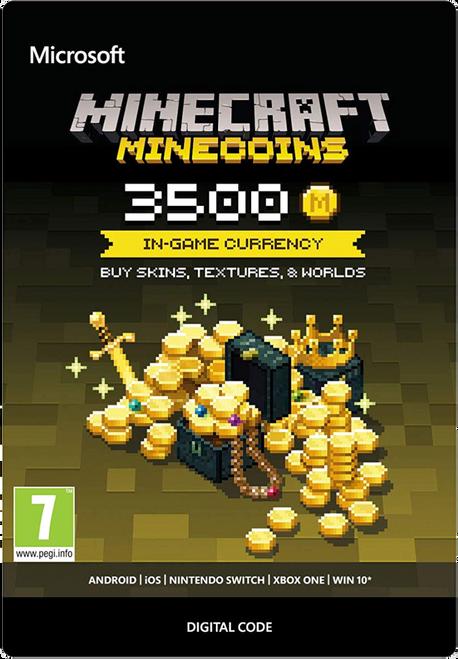 Minecraft Minecoins Pack 3500 coins