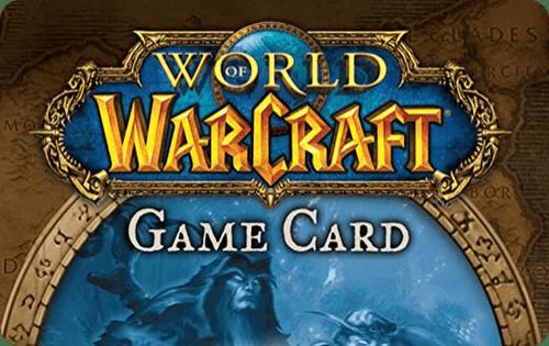 Blizzard World of Warcraft Game Card (60 Days)