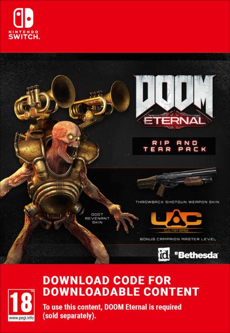 Nintendo DOOM Eternal Rip & Tear Pack