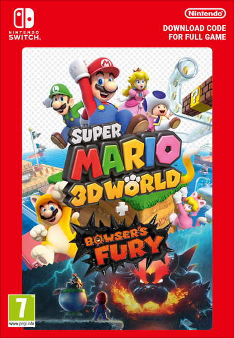 Nintendo Super Mario 3D World + Bowser's Fury