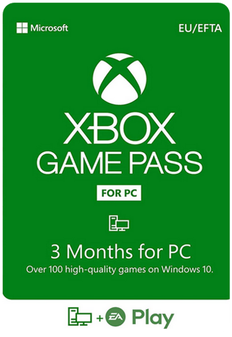 Xbox Game Pass For PC - 3 Months - Digital Code