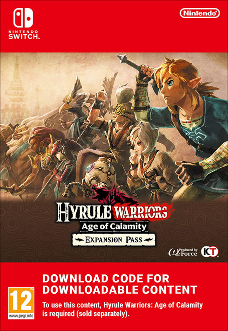 Hyrule Warriors: Age of Calamity Expansion Pass - Nintendo Switch