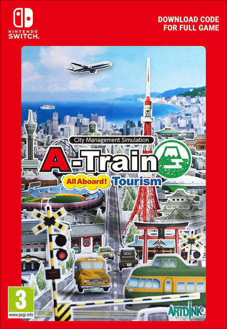 A-Train All Aboard! Tourism - Nintendo Switch