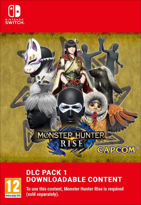 Monster Hunter Rise DLC Pack 1 - Nintendo Switch