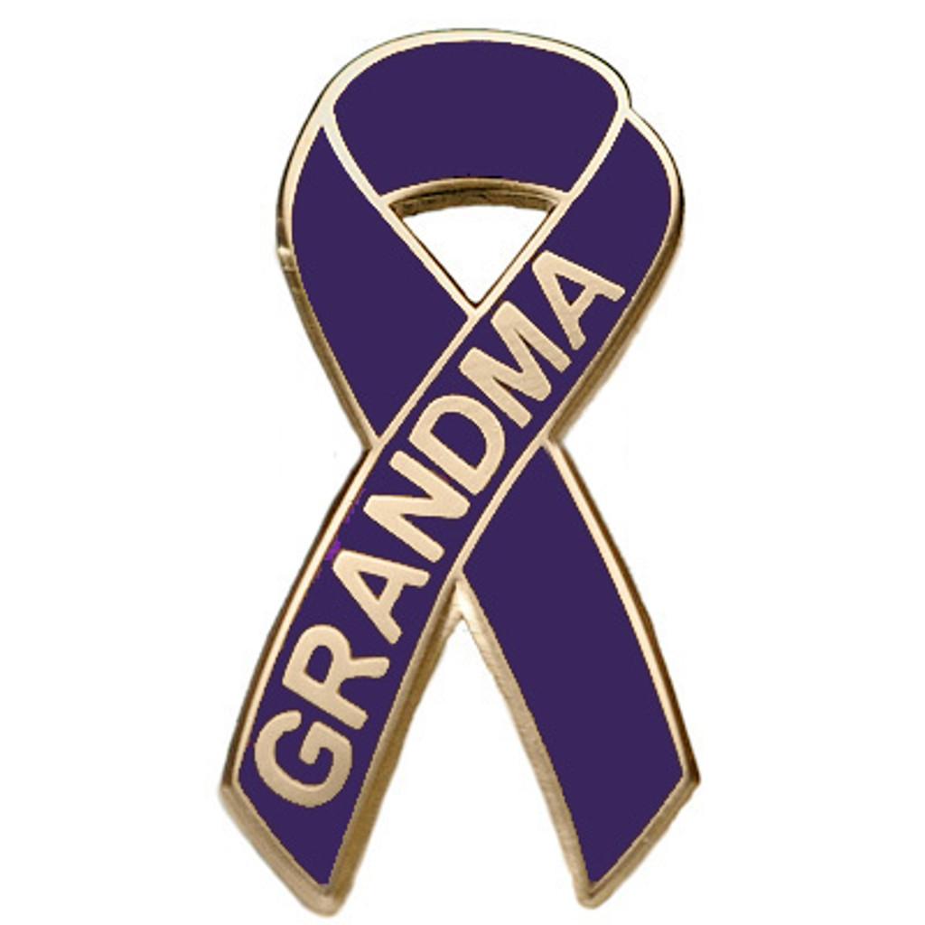 Pancreatic Cancer Awareness Lapel Pin - Grandma