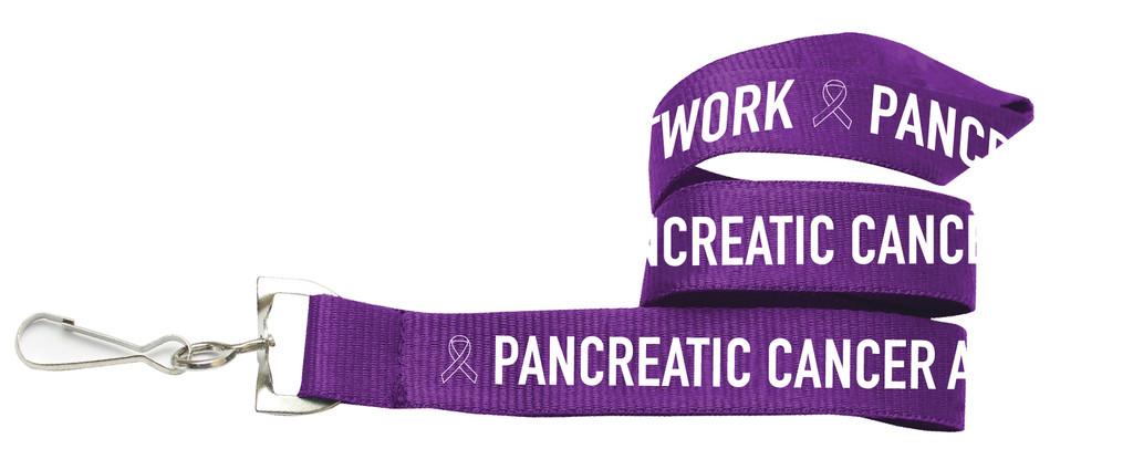 Pancreatic Cancer Awareness Lanyard