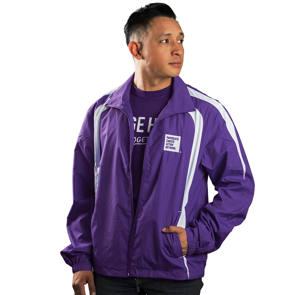 Pancreatic Cancer Awareness Wind Jacket/Unisex/For Him