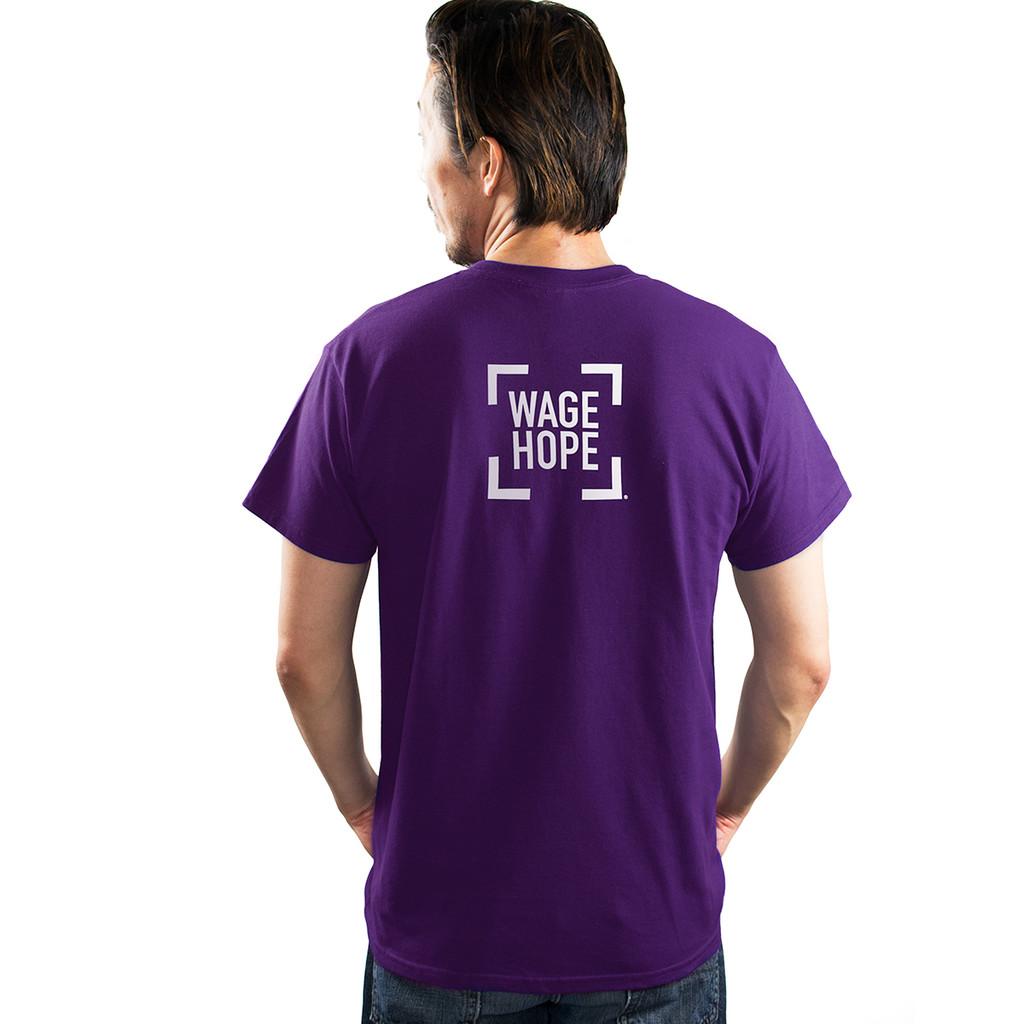 Pancreatic Cancer Awareness T-Shirt/Unisex/For Him