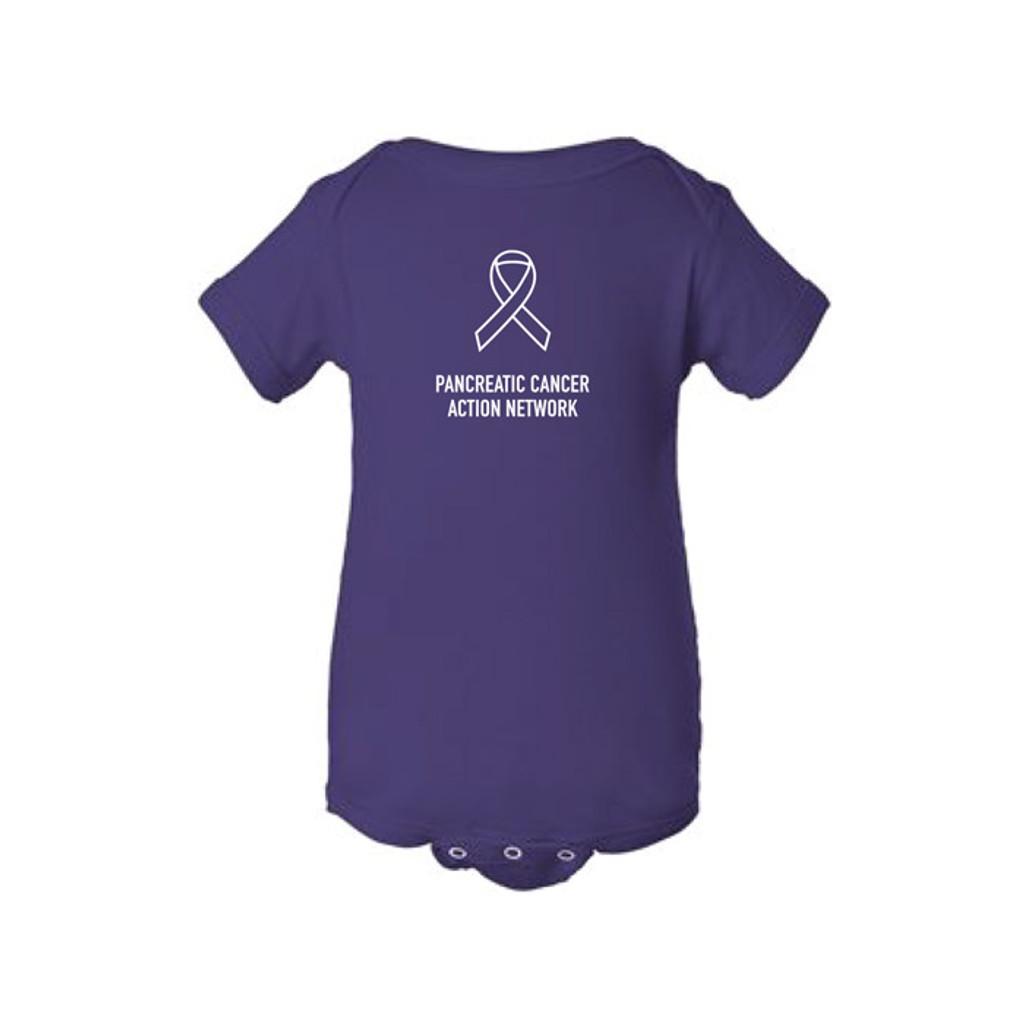 Pancreatic Cancer Awareness Baby Onesie