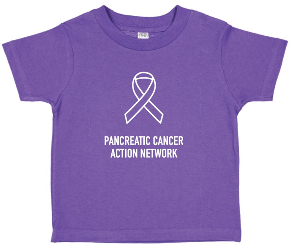 Pancreatic Cancer Awareness Toddler T-Shirt
