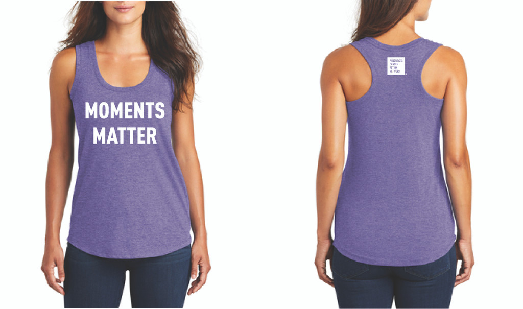 Moments Matter Ladies Racerback Tank
