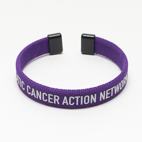 Pancreatic Cancer Awareness Bangle Bracelet