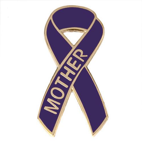 Pancreatic Cancer Awareness Lapel Pin - Mother