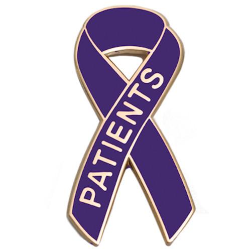Pancreatic Cancer Awareness Lapel Pin - Patients