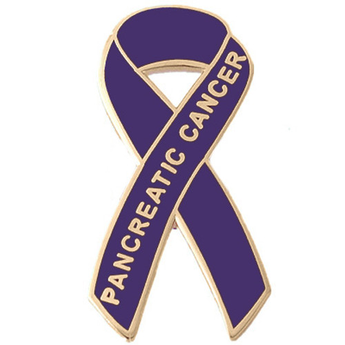 Pancreatic Cancer Awareness Lapel Pin - Pancreatic Cancer