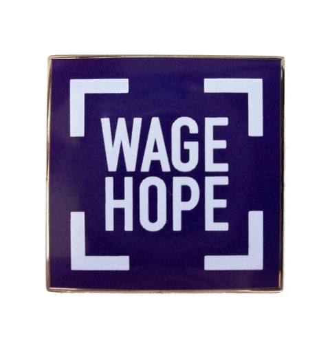 Wage Hope Magnetic Pin
