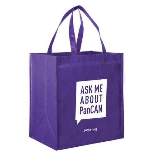 Pancreatic Cancer Awareness Reusable Grocery Bag