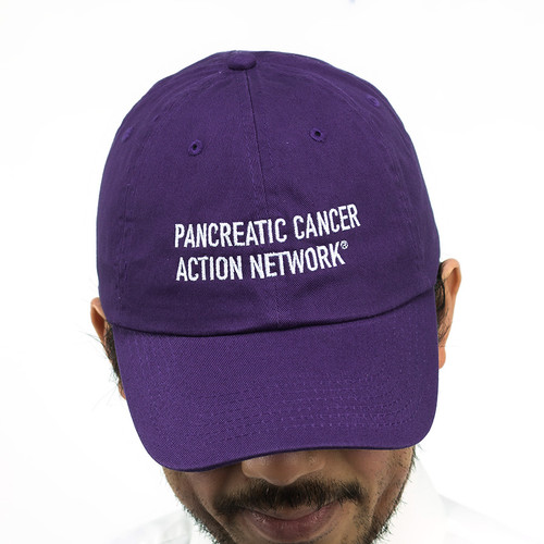 Pancreatic Cancer Awareness Headwear – Purple Twill Hat