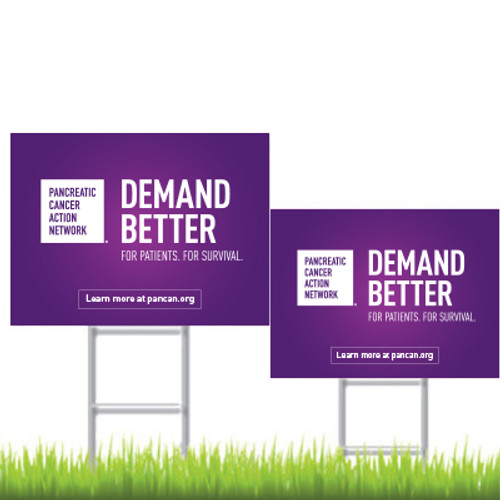 Lawn Sign - Demand Better