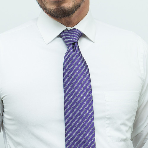 Pancreatic Cancer Awareness Necktie