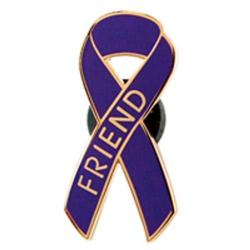 Pancreatic Cancer Awareness Lapel Pin - Friend