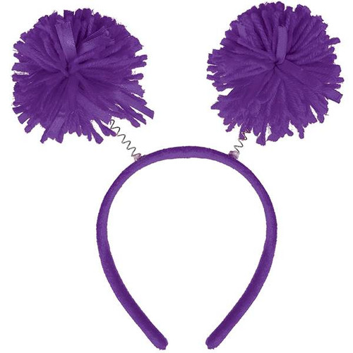 Event Day Fun! Pancreatic Cancer Awareness Purple Pom Pom Head Bopper