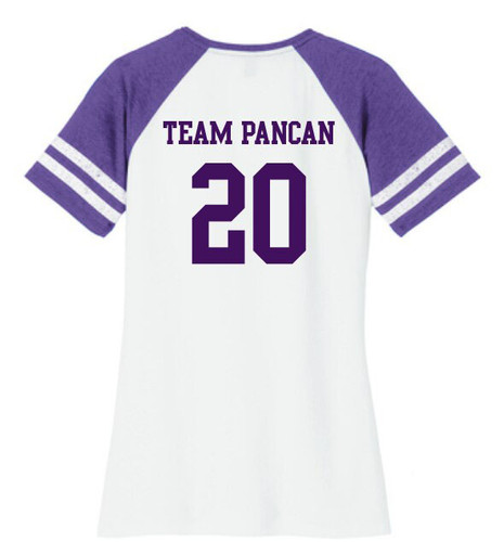 Ladies Team PanCAN Awareness Shirt
