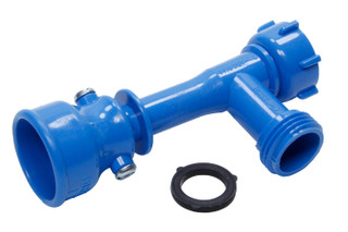 Transfer Pump, Manual, Hand Siphon, Plastic, Blue, ShurTrax Traction Aids,