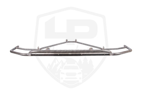 2019+ FORESTER SMALL BUMPER GUARD PLAIN STEEL FINISH INCLUDES DEFLECTION PLATE