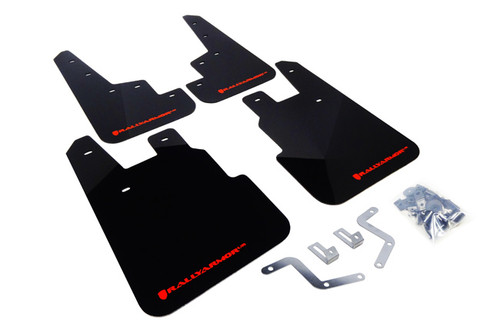2014-2018 FORESTER (SJ) RALLY ARMOR BLACK ur MUD FLAPS (Choose Logo Colour)