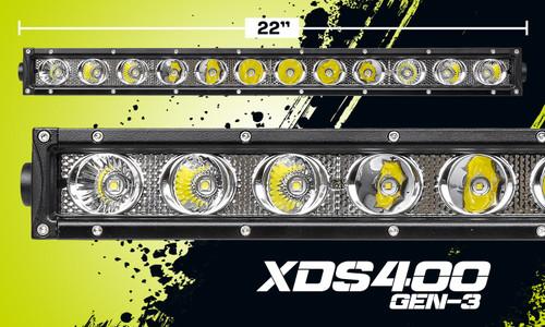 22 INCH SINGLE ROW LED LIGHT BAR (XD-GEN3 SERIES)