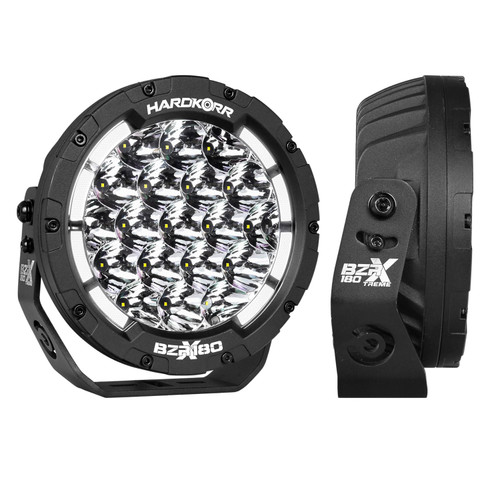 7″ LED Driving Lights (Pair w/Harness)