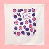 get figgy with it! tea towel