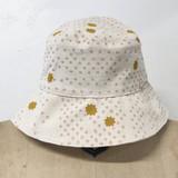 dusty pink night sky bucket hat