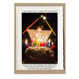 flying squirrel birthday card