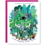 plant freak birthday card