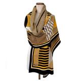 bauhaus wrap | yellow