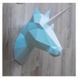 unicorn/horse wall trophy   mint