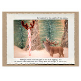 be inspired/ the courage of eggnog card