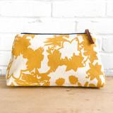 gold deep woods makeup zipper bag