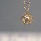 stellar diamond necklace