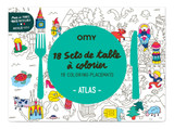 coloring placemats | atlas