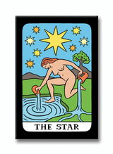 the star tarot magnet