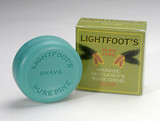 lightfoot's shaving soap